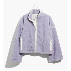 •new• Madewell x Penfield Lilac Haight Fleece